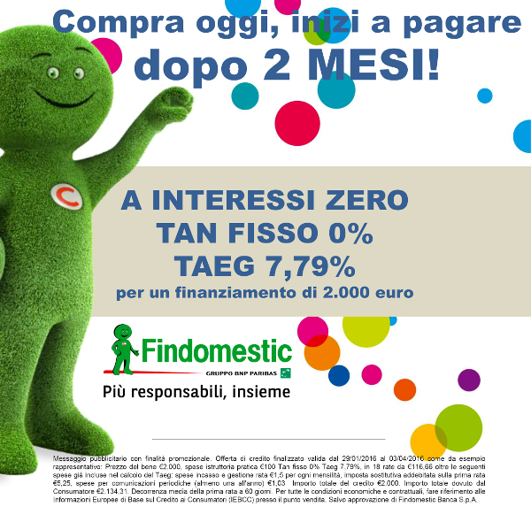 findomestic interessi zero
