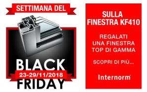 Settimana del Black Friday sulla finestra KF410